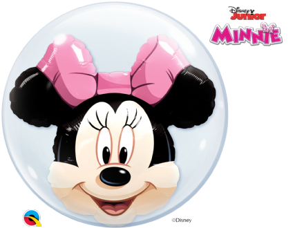 Minnie & Mickey Double Bubble Balloon